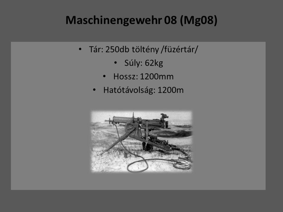Tár: 250db töltény /füzértár/