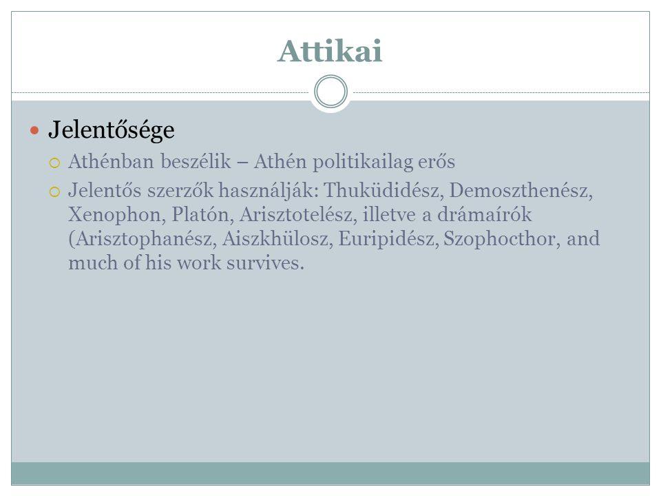 Attikai Jelentősége Athénban beszélik – Athén politikailag erős