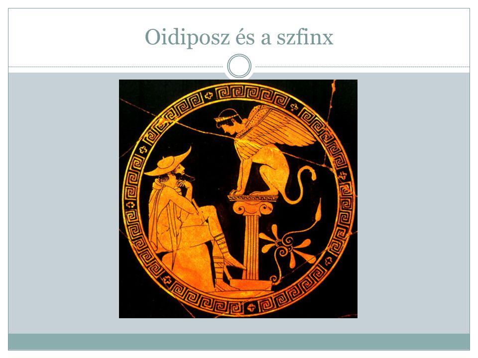 Oidiposz és a szfinx