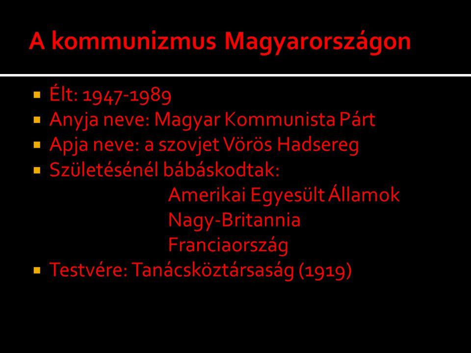 A kommunizmus Magyarországon