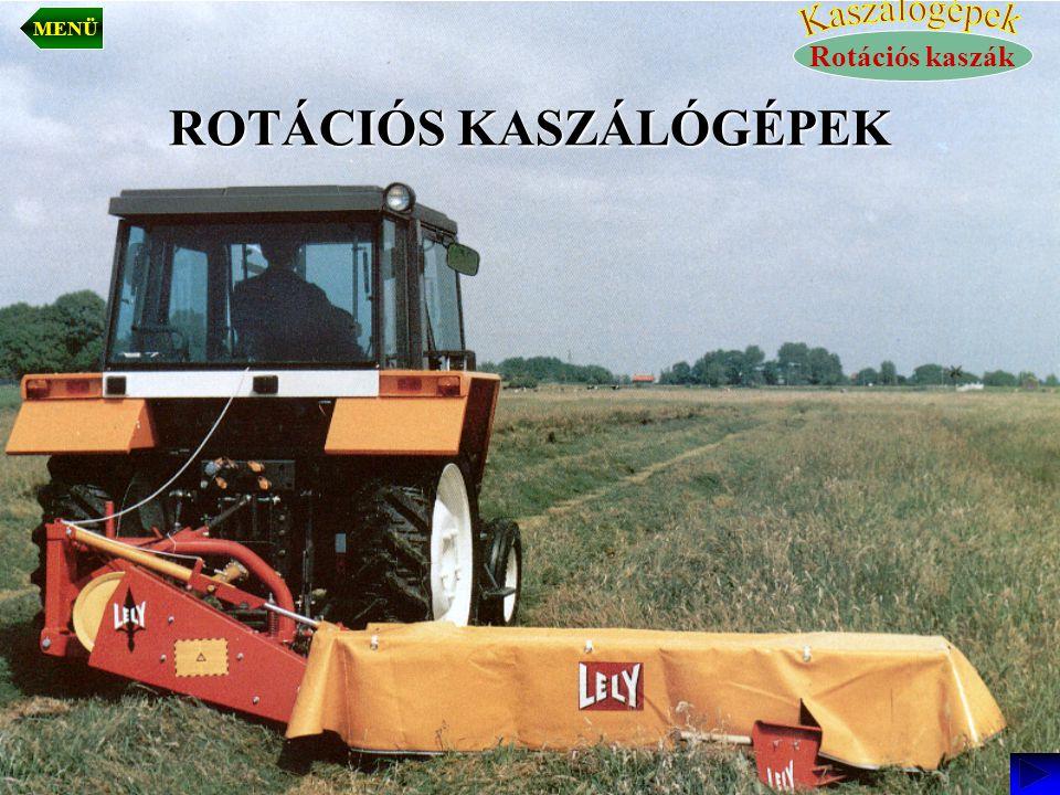ROTÁCIÓS KASZÁLÓGÉPEK