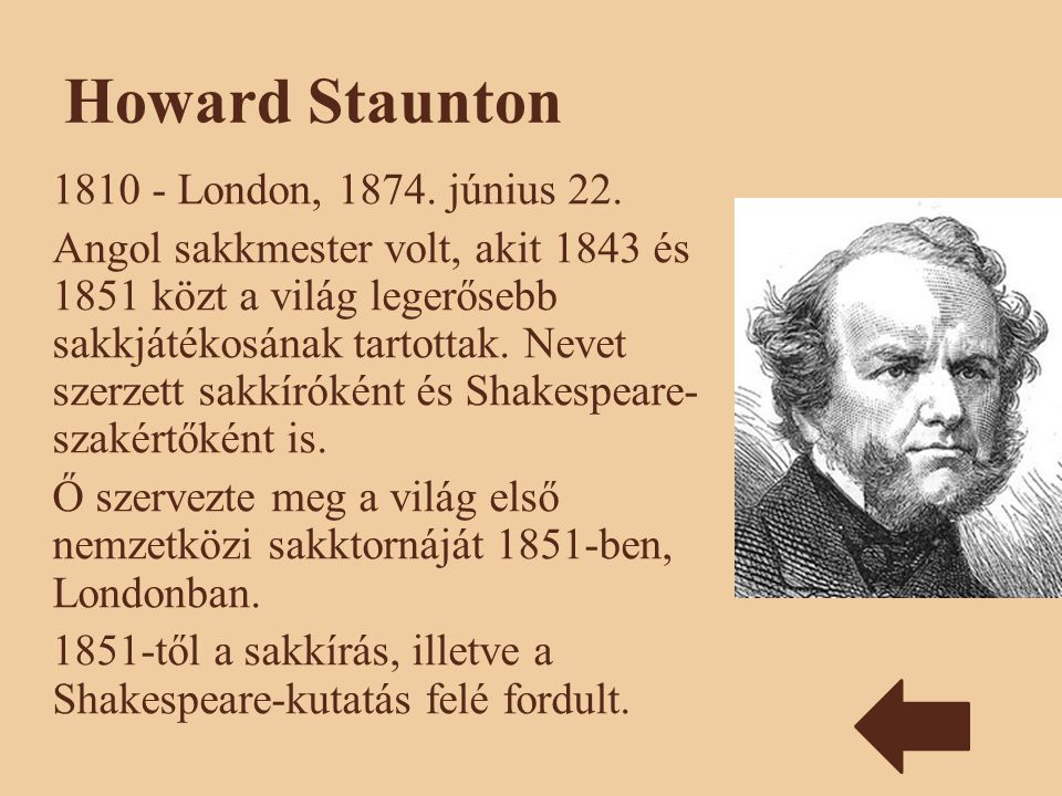 Howard Staunton