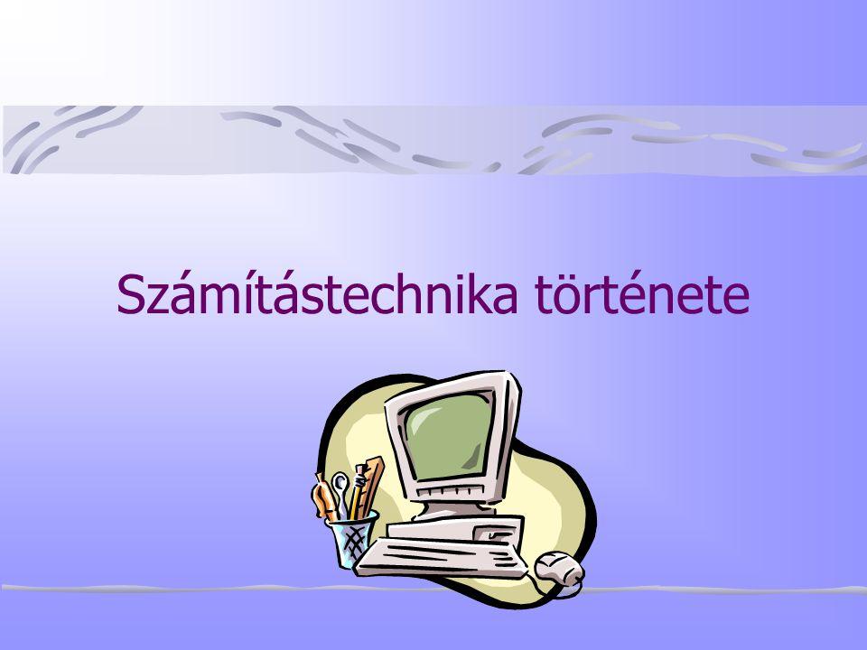 Számítástechnika története