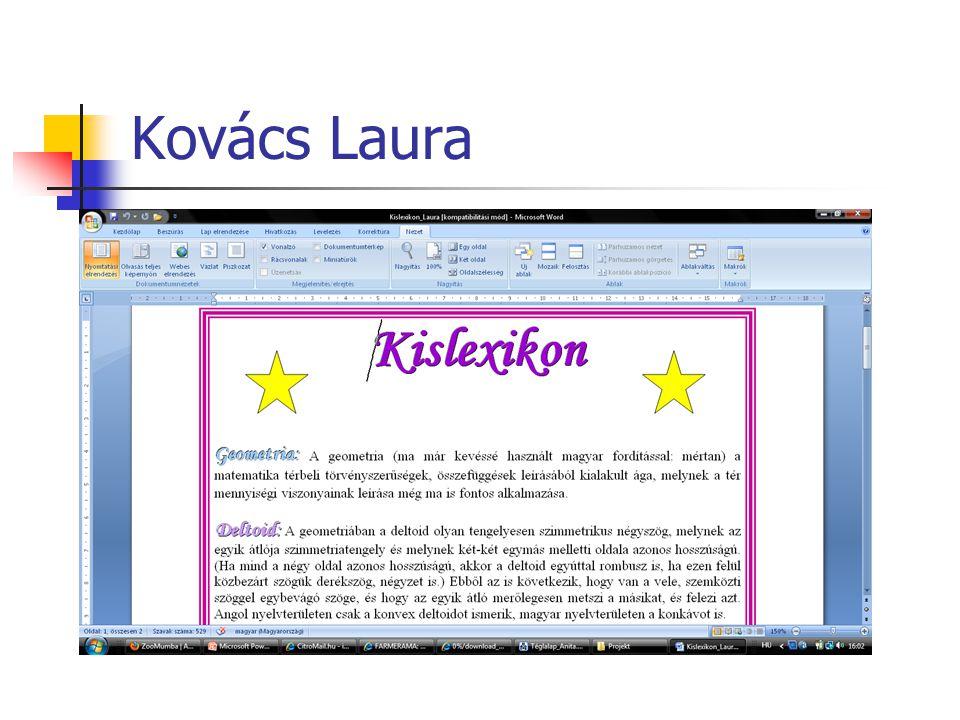 Kovács Laura