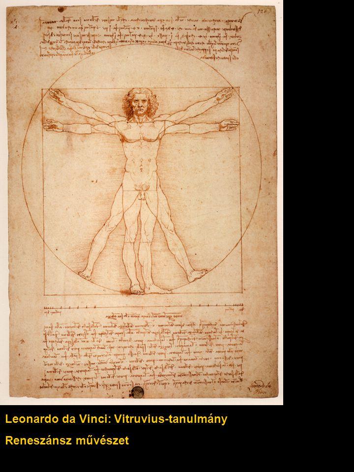 Leonardo da Vinci: Vitruvius-tanulmány