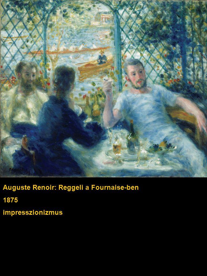 Auguste Renoir: Reggeli a Fournaise-ben