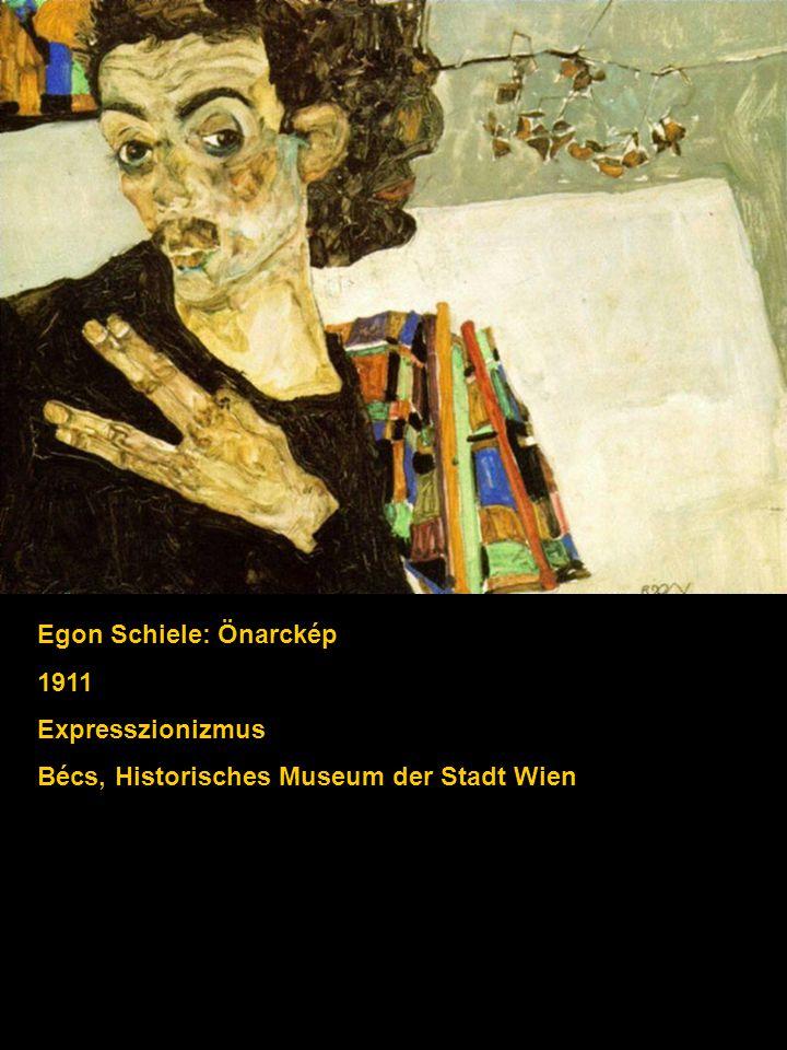 Egon Schiele: Önarckép