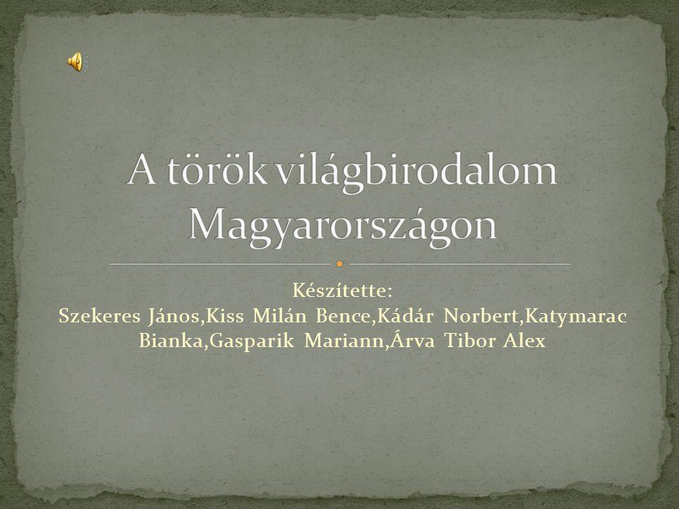A török világbirodalom Magyarországon