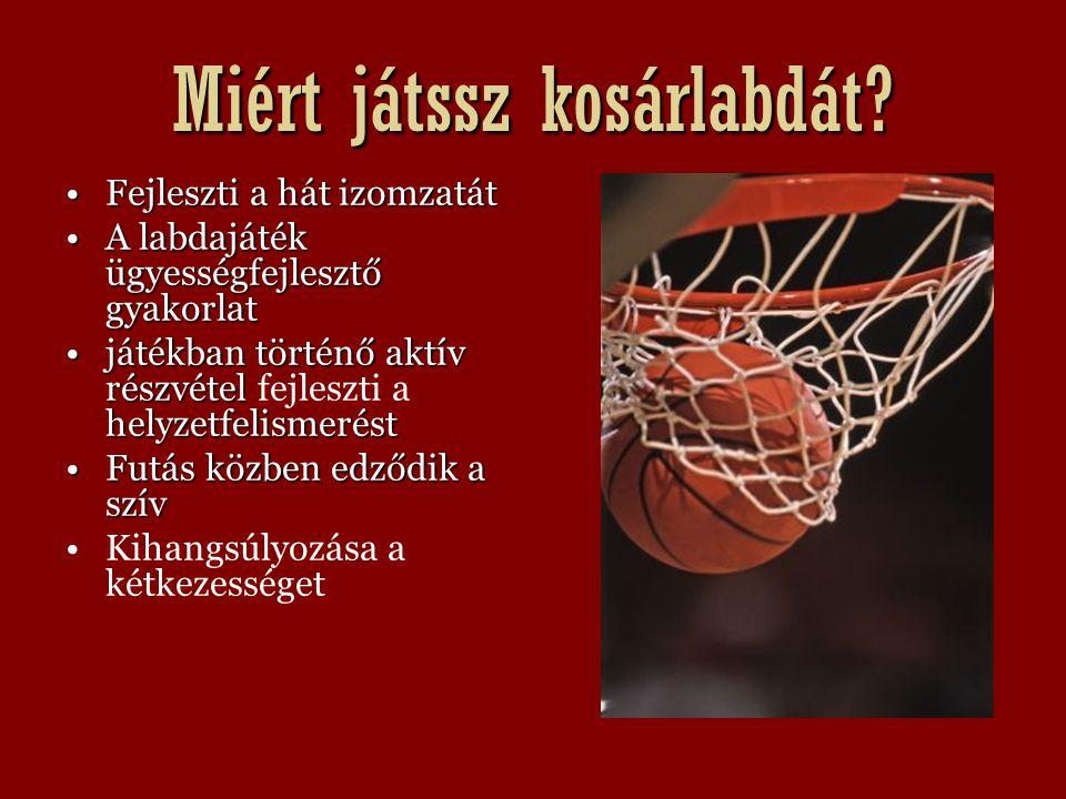 Miért játssz kosárlabdát