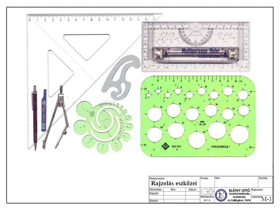 Rajzolás eszközei M-1