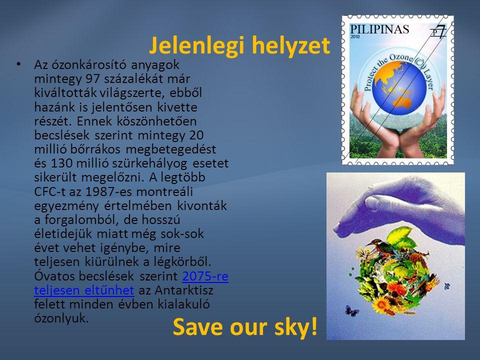 Jelenlegi helyzet Save our sky!