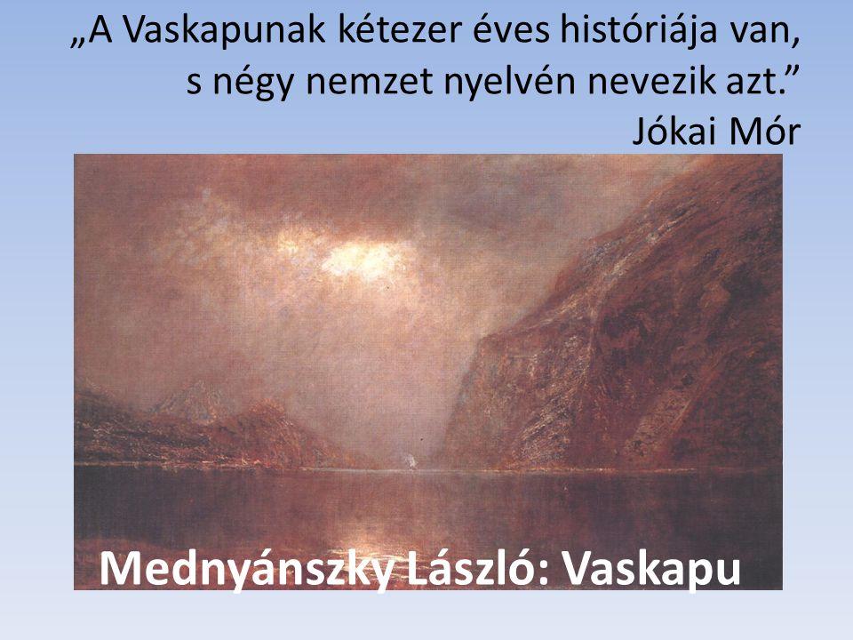 Mednyánszky László: Vaskapu