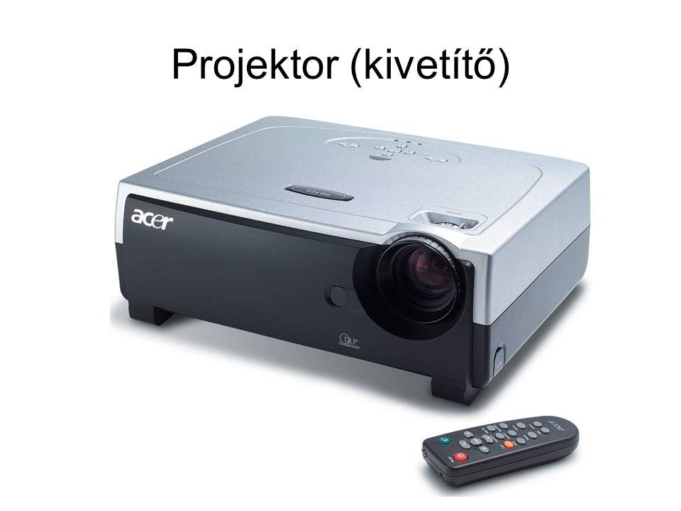 Projektor (kivetítő)