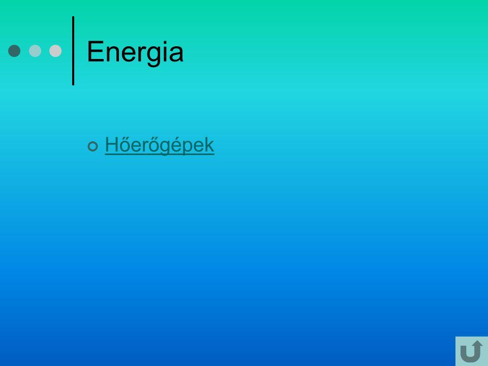 Energia Hőerőgépek