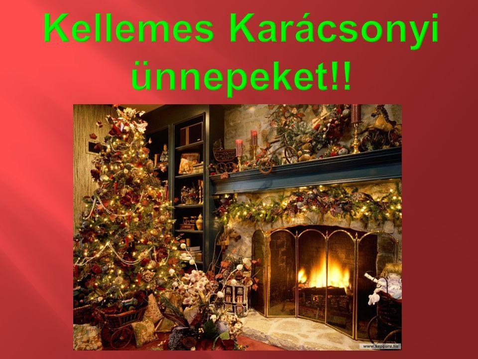 Kellemes Karácsonyi ünnepeket!!
