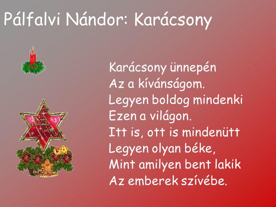 Pálfalvi Nándor: Karácsony