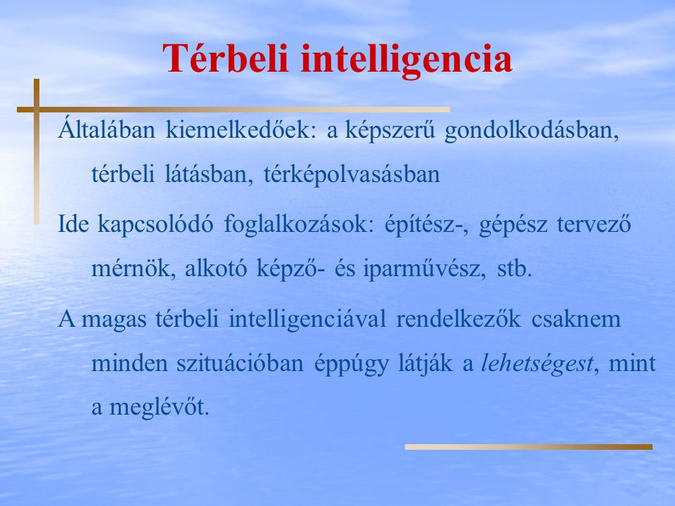 Térbeli intelligencia