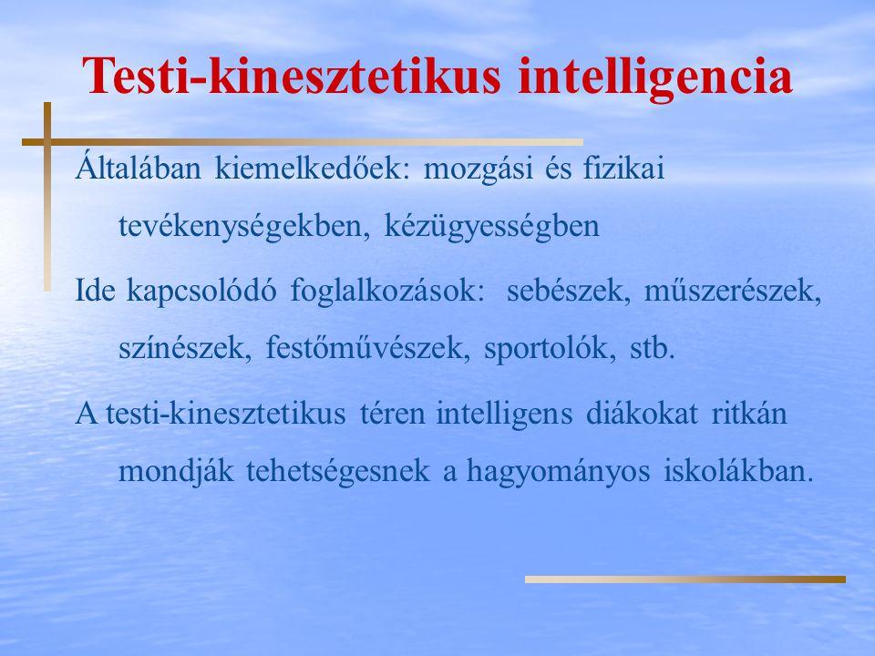 Testi-kinesztetikus intelligencia