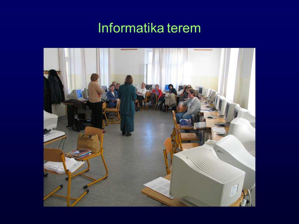 Informatika terem