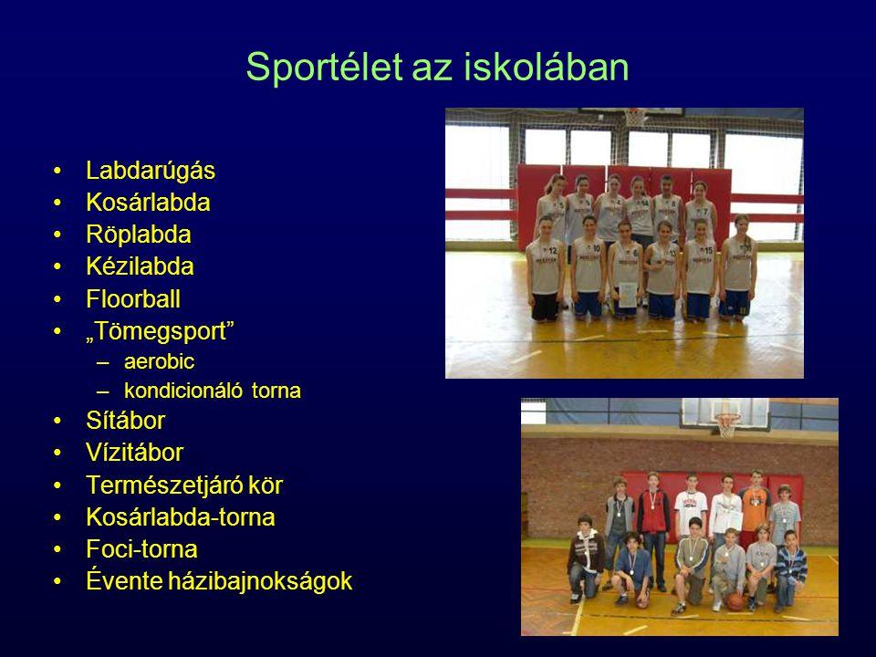 Sportélet az iskolában