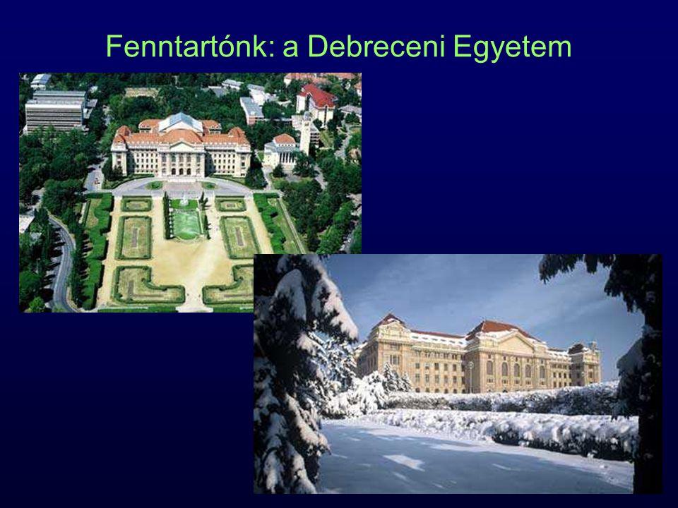 Fenntartónk: a Debreceni Egyetem
