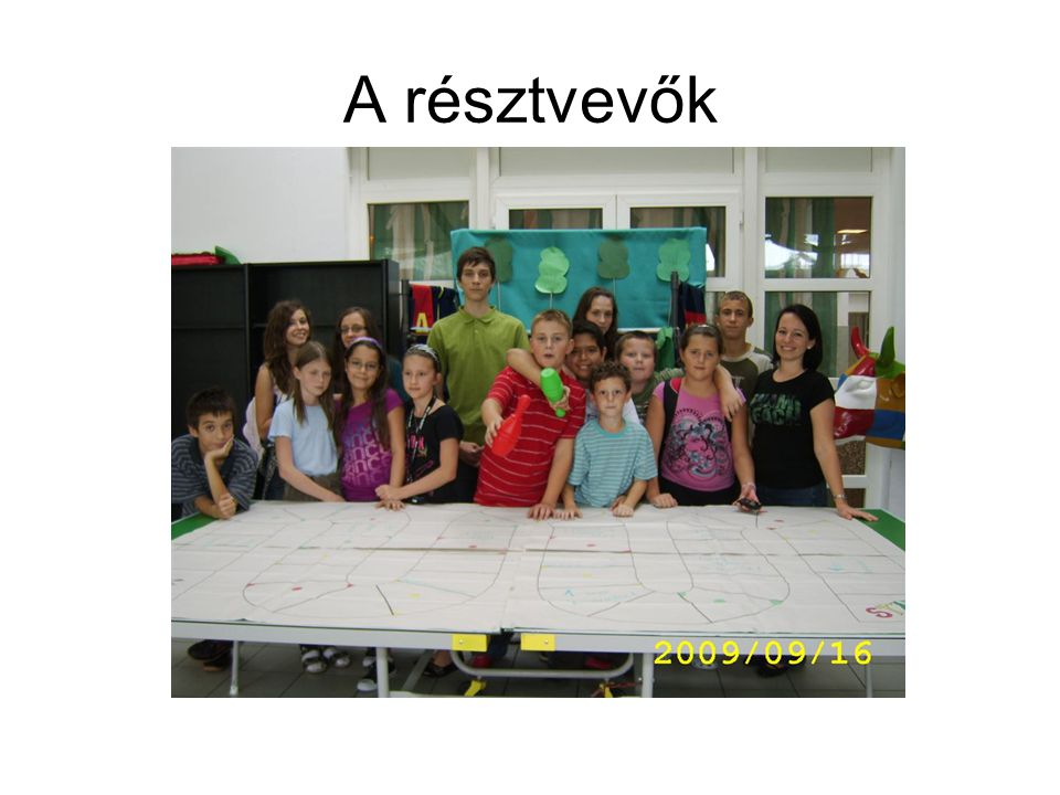 A résztvevők