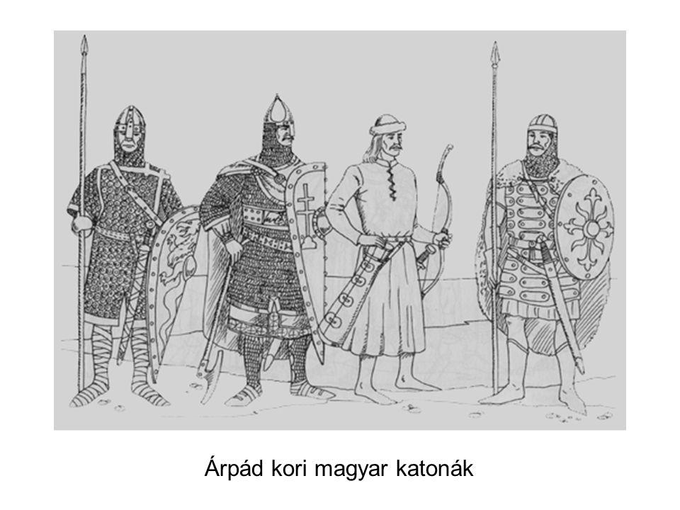 Árpád kori magyar katonák