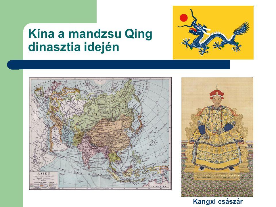 Kína a mandzsu Qing dinasztia idején