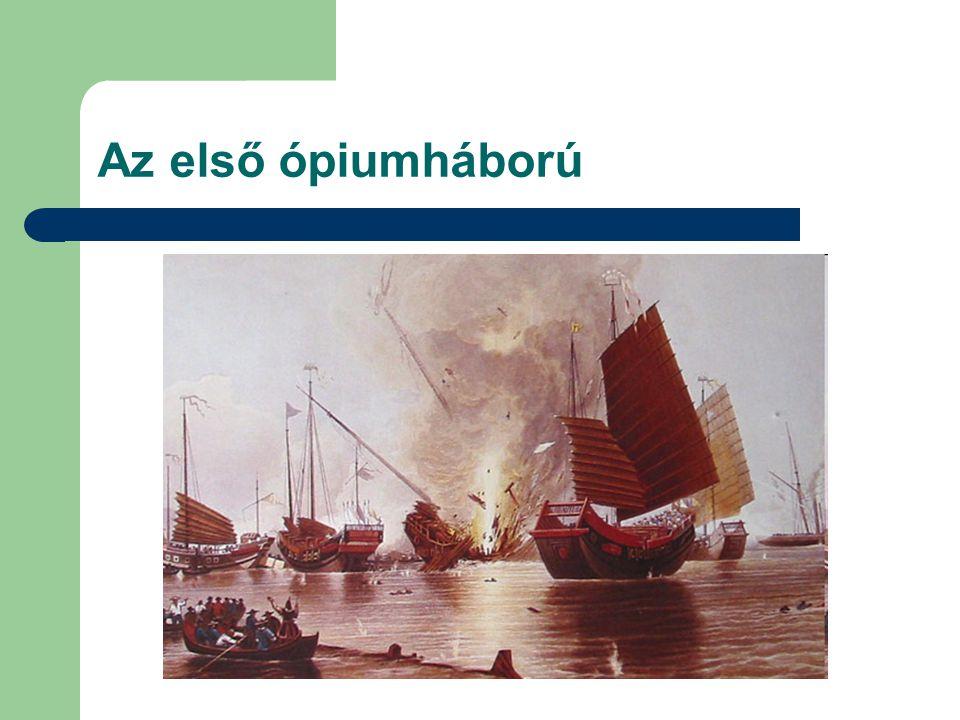 Az első ópiumháború