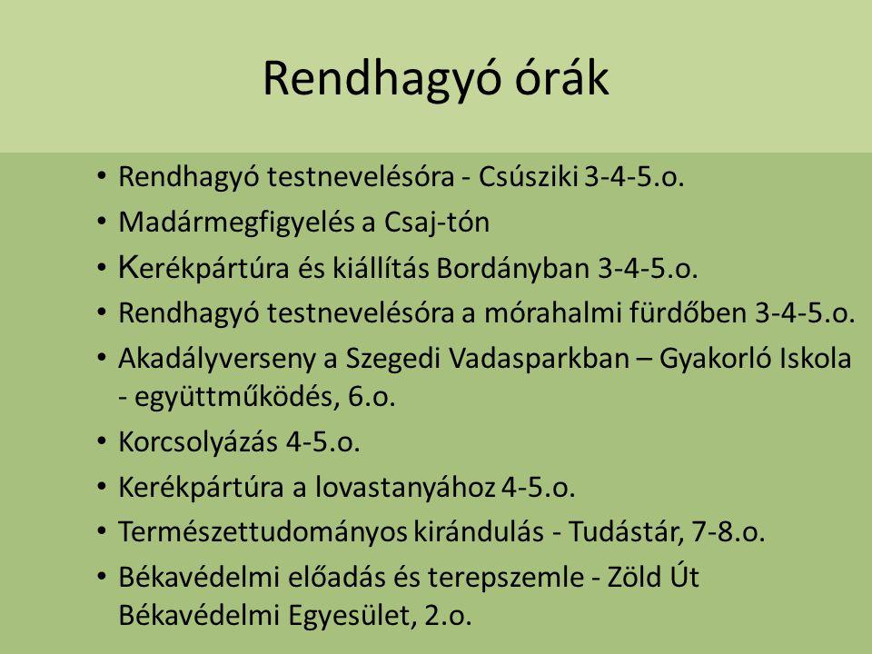 Rendhagyó órák Rendhagyó testnevelésóra - Csúsziki 3-4-5.o.