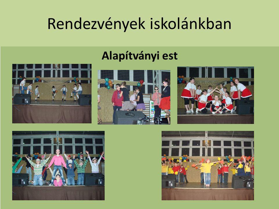 Rendezvények iskolánkban