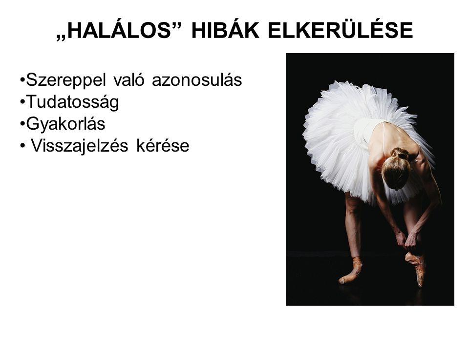 """""""HALÁLOS HIBÁK ELKERÜLÉSE"""