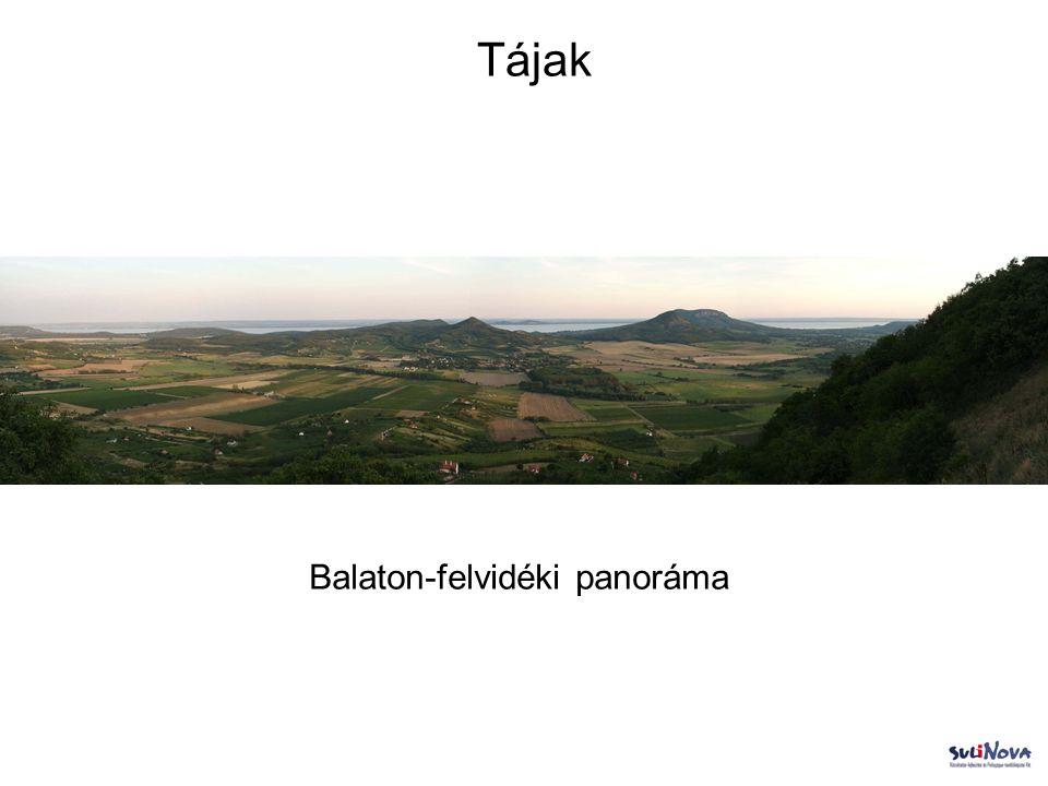 Balaton-felvidéki panoráma