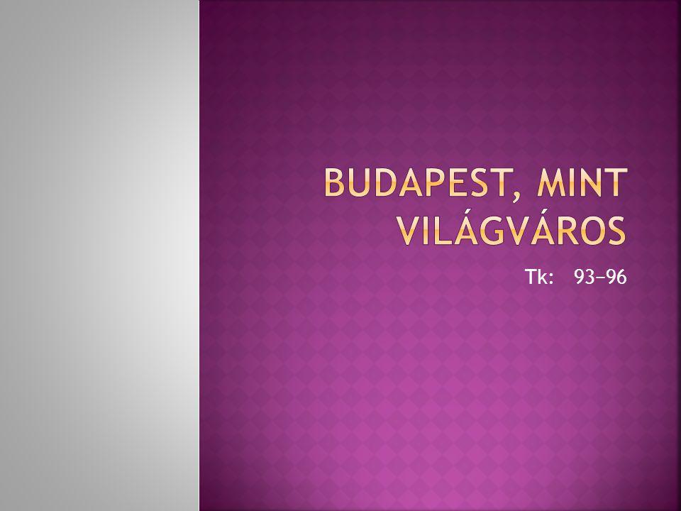 Budapest, mint világváros