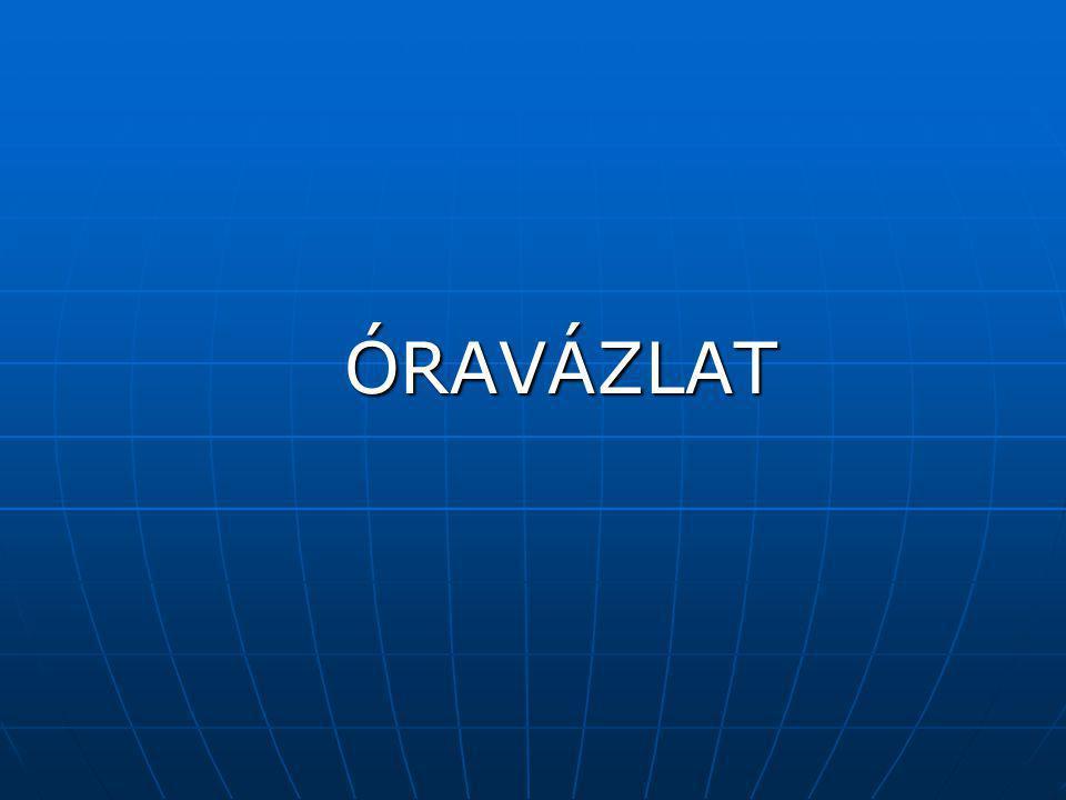 ÓRAVÁZLAT