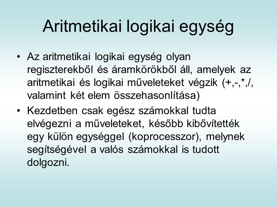 Aritmetikai logikai egység