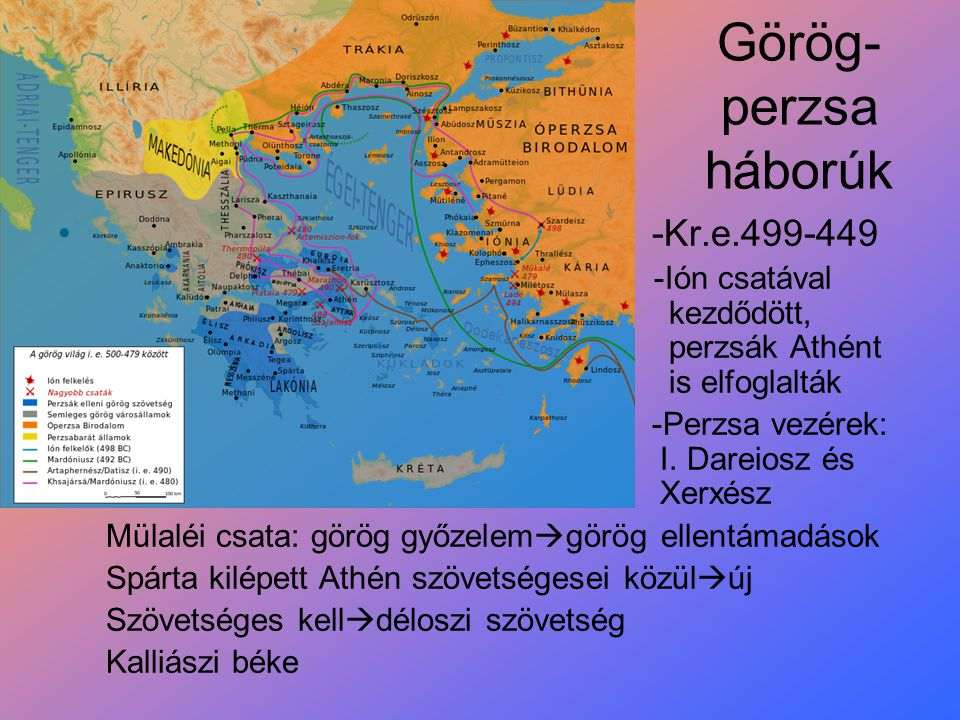 Görög-perzsa háborúk -Kr.e.499-449