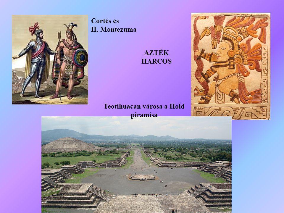 Teotihuacan városa a Hold piramisa