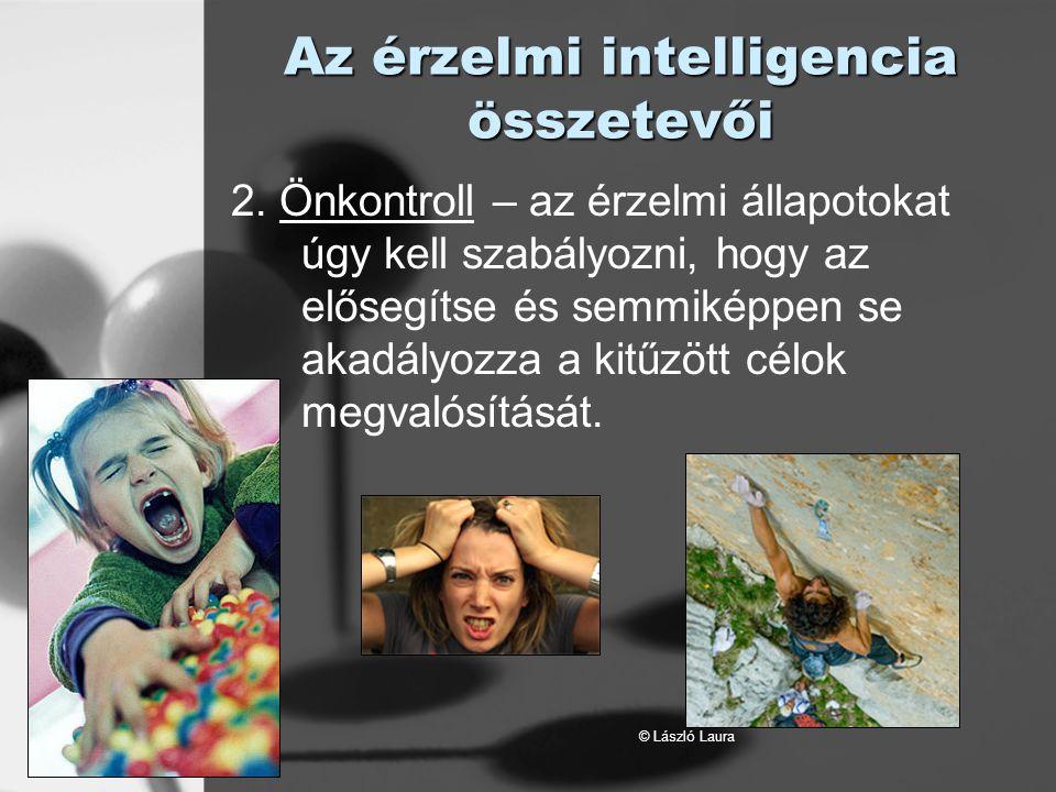 Az érzelmi intelligencia összetevői
