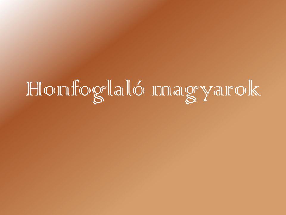 Honfoglaló magyarok