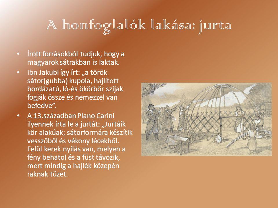 A honfoglalók lakása: jurta