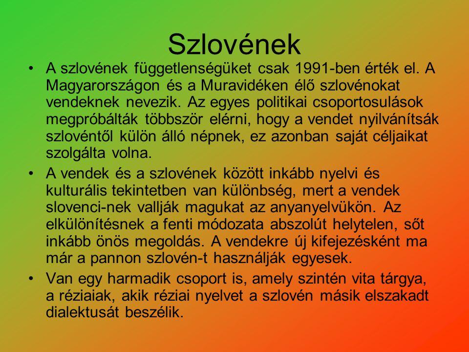 Szlovének