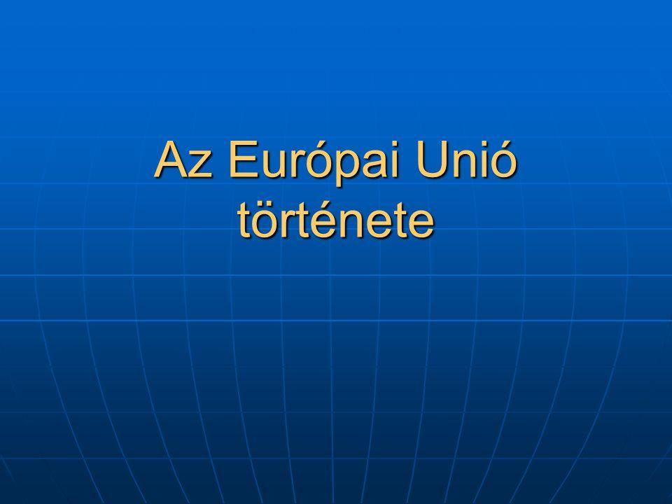 Az Európai Unió története