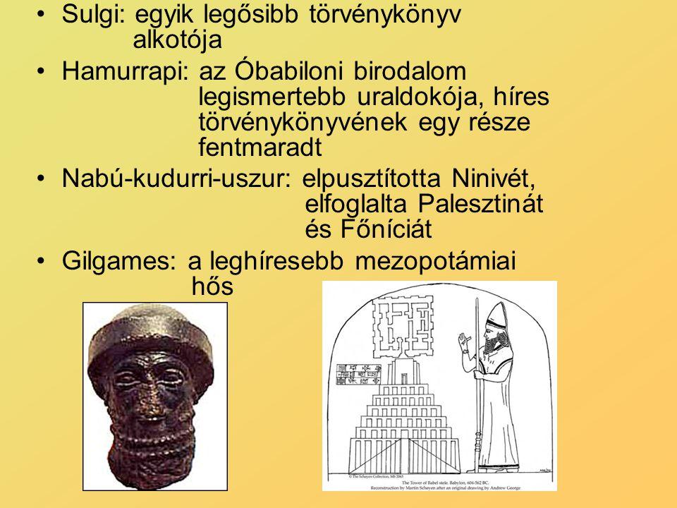 Sulgi: egyik legősibb törvénykönyv alkotója