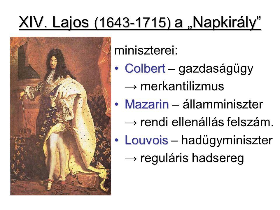 """XIV. Lajos (1643-1715) a """"Napkirály"""
