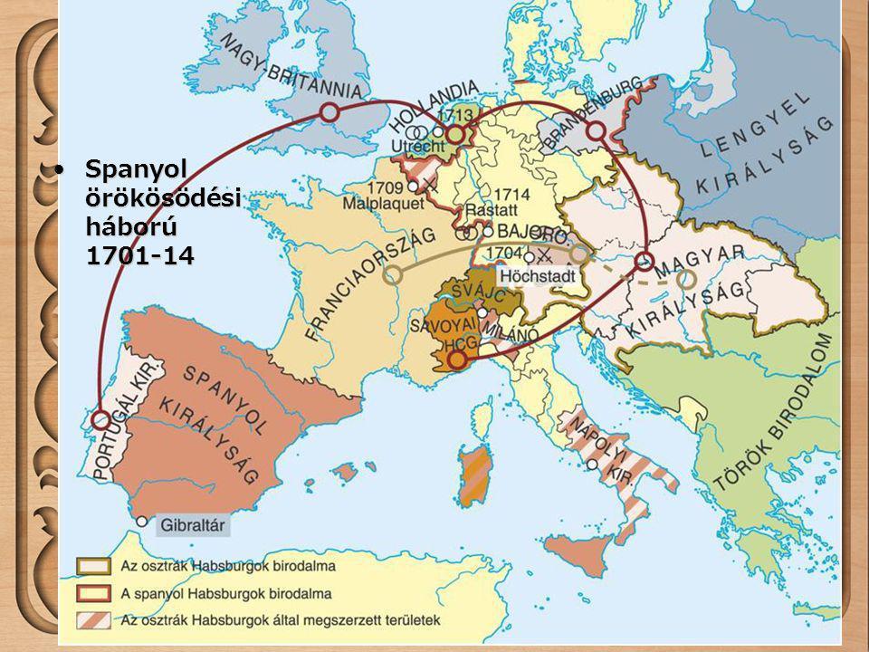 Spanyol örökösödési háború 1701-14