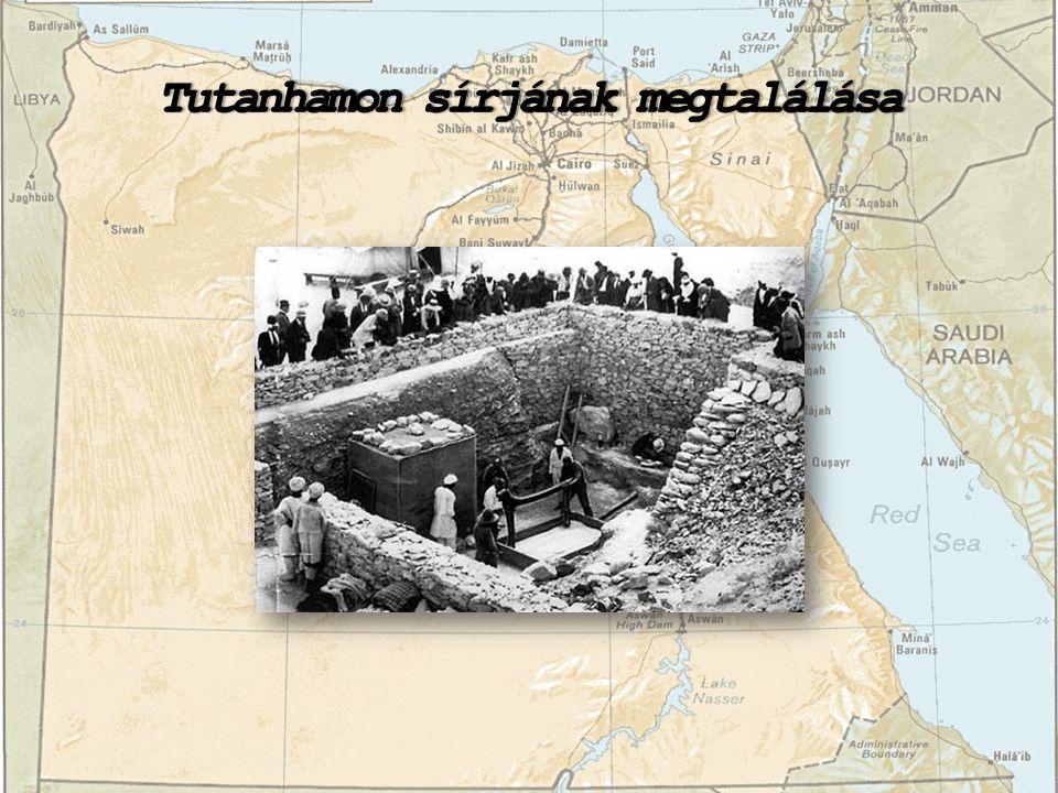 Tutanhamon sírjának megtalálása