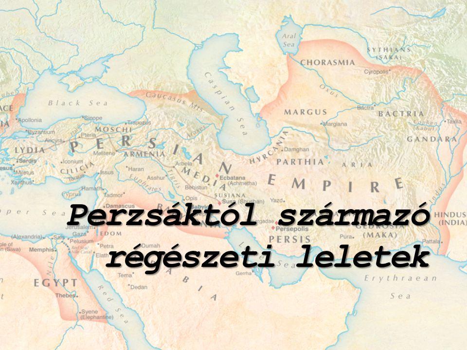 Perzsáktól származó régészeti leletek