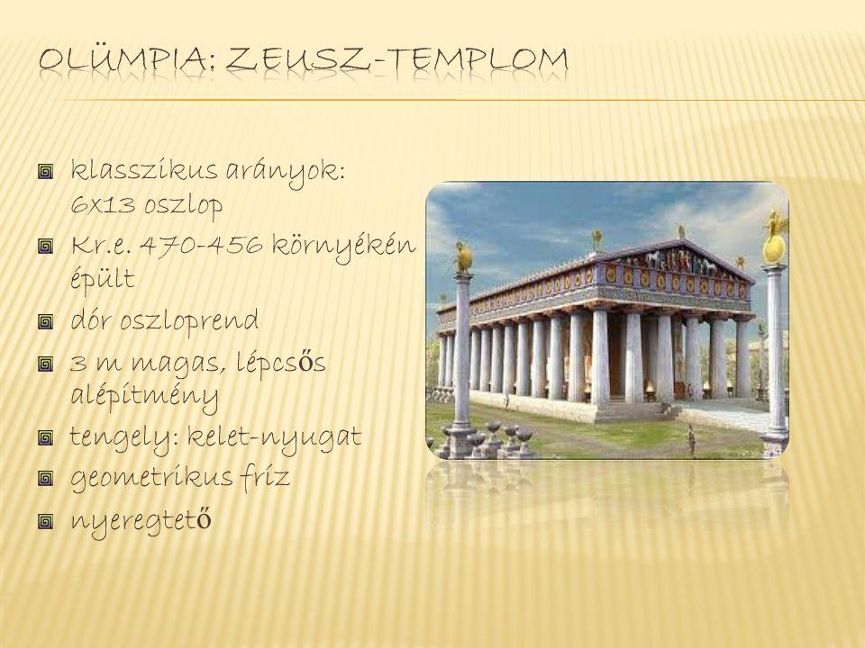 Olümpia: Zeusz-templom