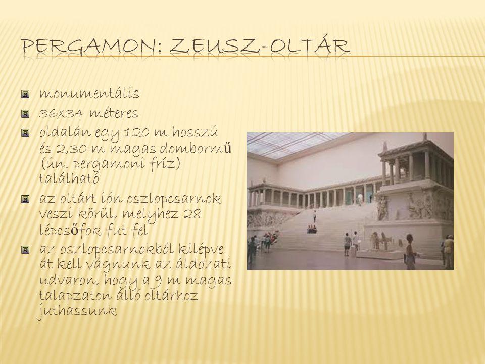 Pergamon: zeusz-oltár